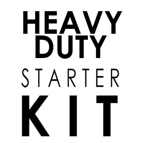 Heavy Duty Starter Kit