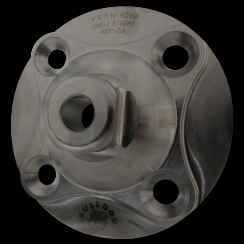 4-Hole Male, Round Base