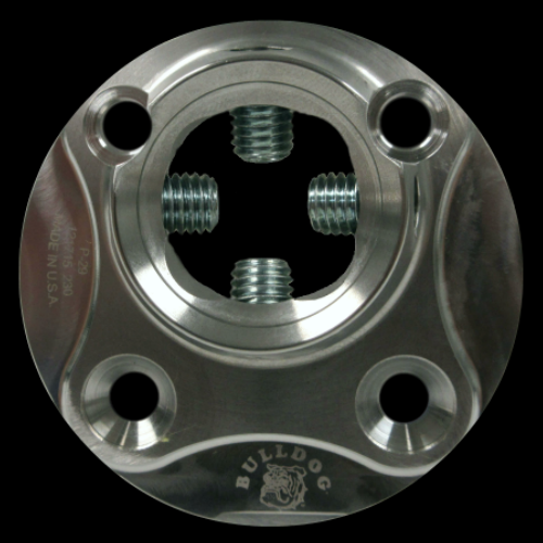 4-Hole Female 10 mm Offset; Stainless Steel
