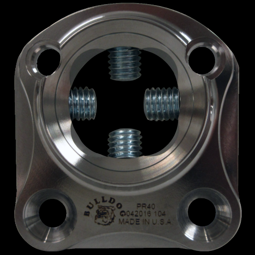 4-Hole Female 7.92 mm Offset, Stainless Steel