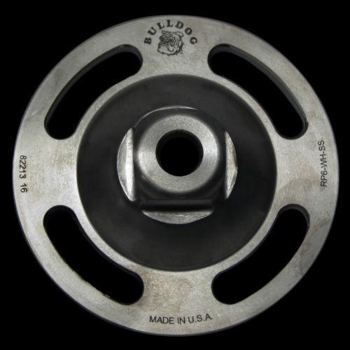 4-Hole Male with Rotation, Titanium