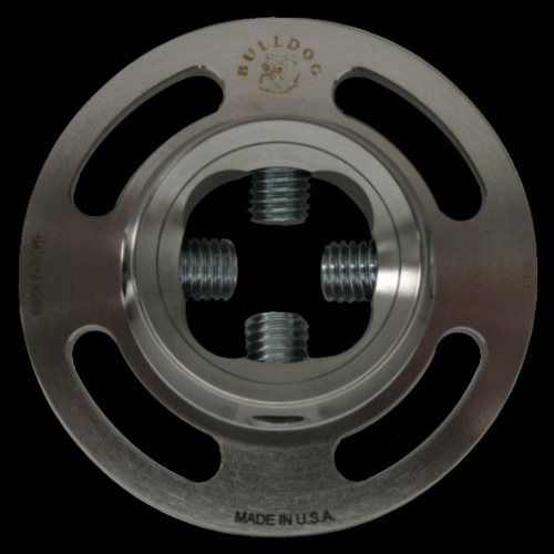 4-Hole Female with Rotation; Titanium