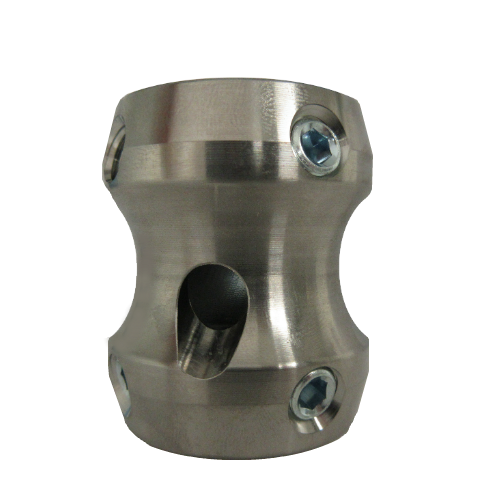 Special Double End Receiver; 45 mm Titanium