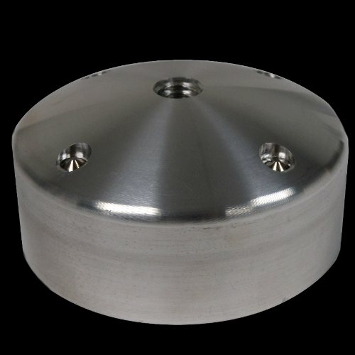 65 mm Thermoforming Dummy for Dome Lock, Aluminum