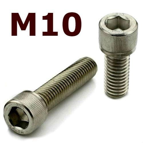 M10x80 Socket Head Cap Screw - Stainless Steel