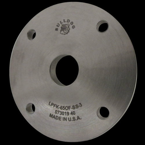 65 mm Flat Outer Former, Stainless Steel