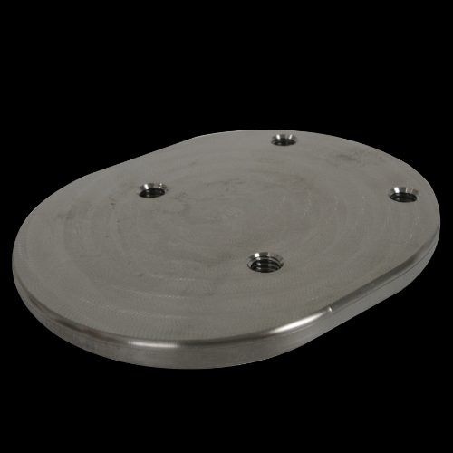 4-Hole Threaded Attachment Plate, Offset