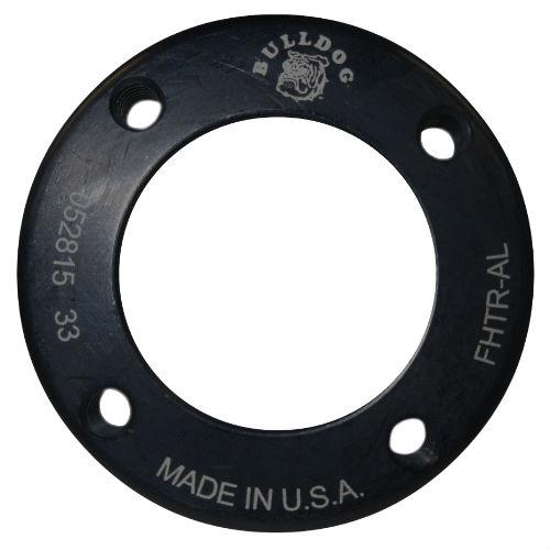 4-Hole Threaded Attachment Plate, 5 mm; Aluminum