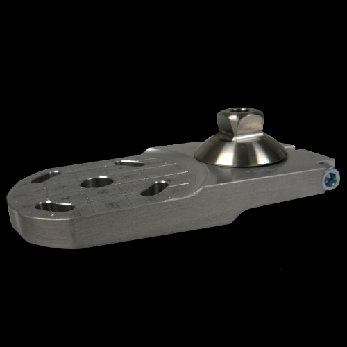 Attachment Plate with Rotation; Offset M36 Female Thread