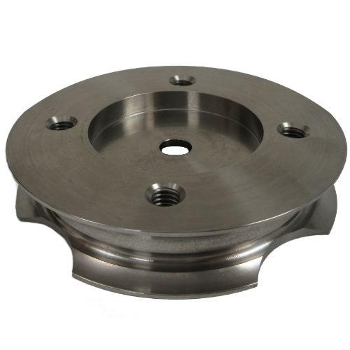 Four Hole Lamination Adapter #4 Stainless Steel