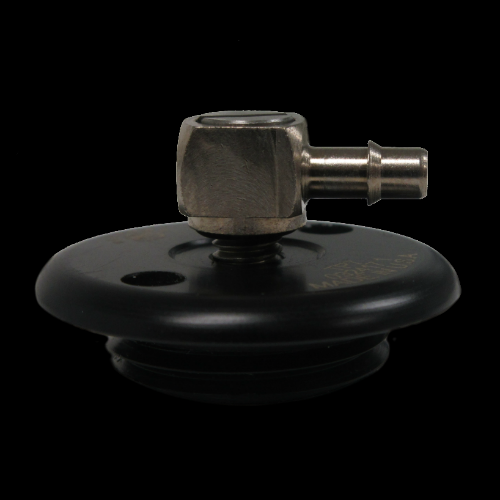 Threaded Plug with Center Hole, Low Profile