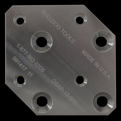 13 mm / 90 Degree Offset Plate