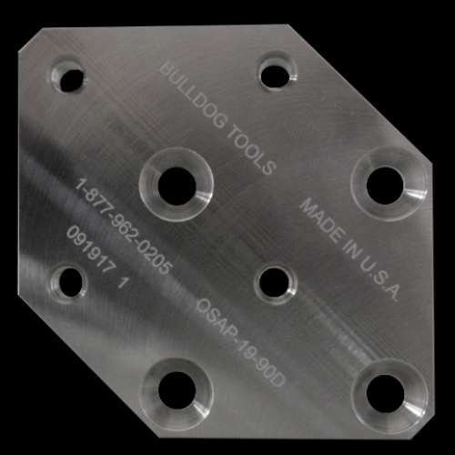 19 mm / 90 Degree Offset Plate