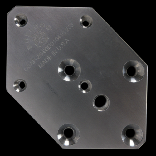 25 mm / 90 Degree Offset Plate